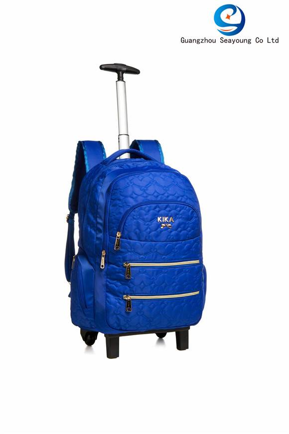 Good Quality Durable Kids Trolley Backpack Dirty-resist School Bag