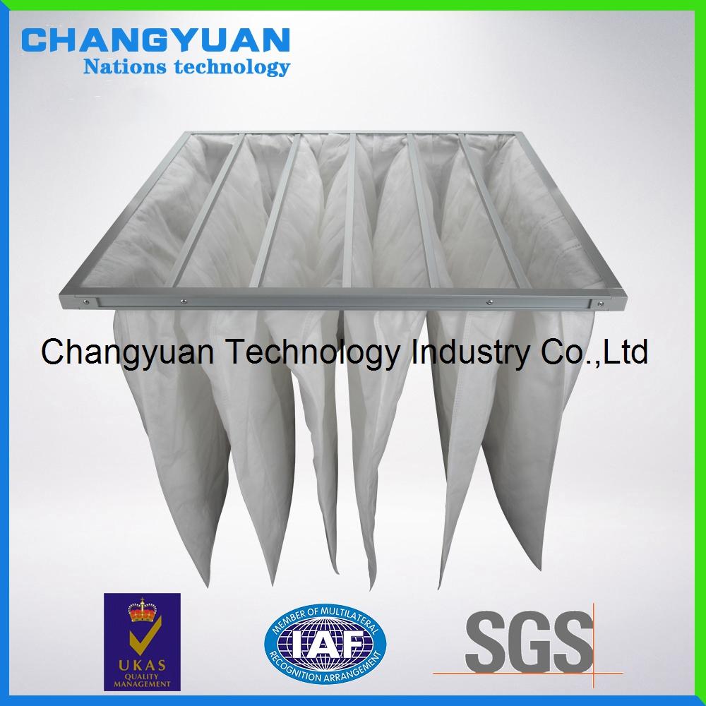 F9 Bag Air Filter for Ventilaion ,HVAC Bag Filter Factory,Filtration Bag Type Air Filter