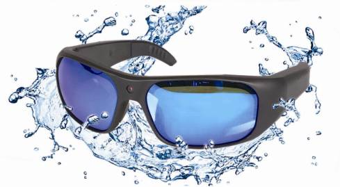 New design Waterproof Full HD 1080P Sports Sunglasses Camera with internal memory 8G/16G/32G