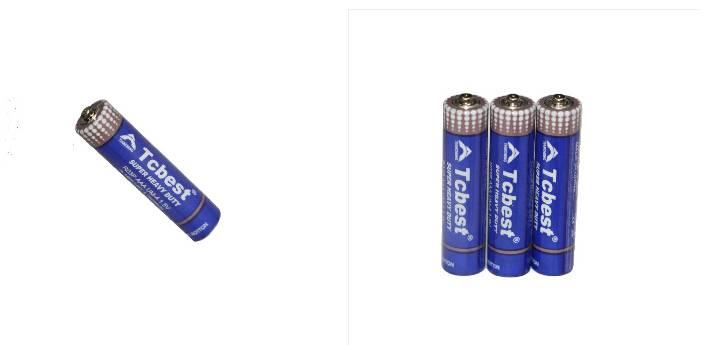 Primary dry batteries1.5v R03P
