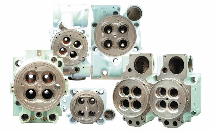 CYLINDER HEAD diesel engine parts