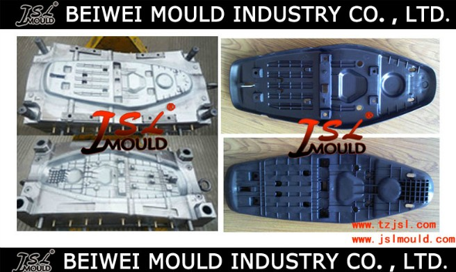 Premium Plastic injection Motorcycle seat frame mould