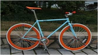 700*23c fixed gear bicycle made in China