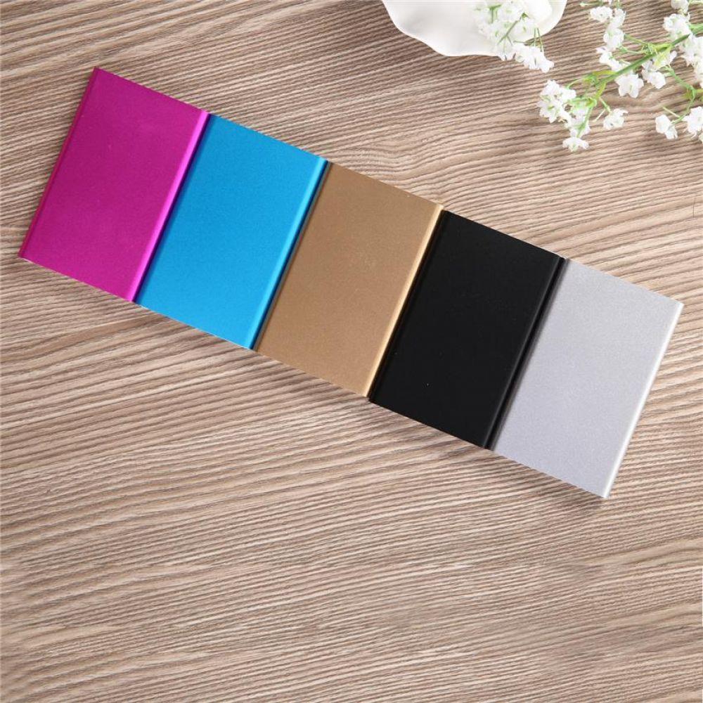 Vivian five color charging treasure 12000mah