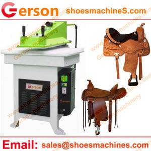 Buffalo Leather Saddle Die Cutting Machine