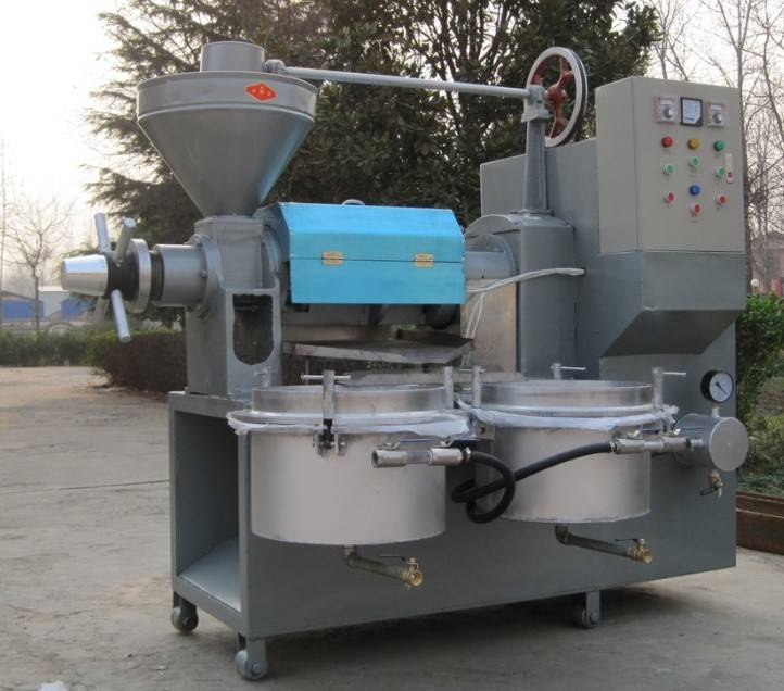 Stainless Steel Automatic Oil Press Machine