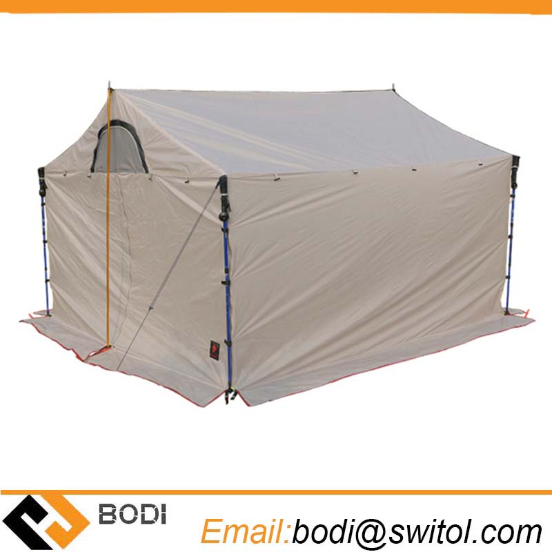 5-8 Person Camping Roof Tent 20d Silicone Single Layer Large Awning Outdoor Ultralight Waterproof