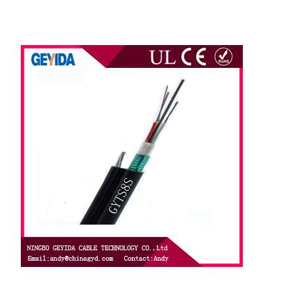 GYTS8S Outdoor Aerial Fiber Optic Cable
