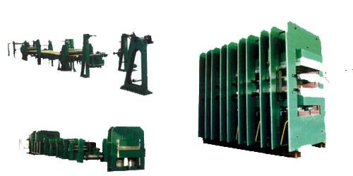 conveyor belt Hydraulic press