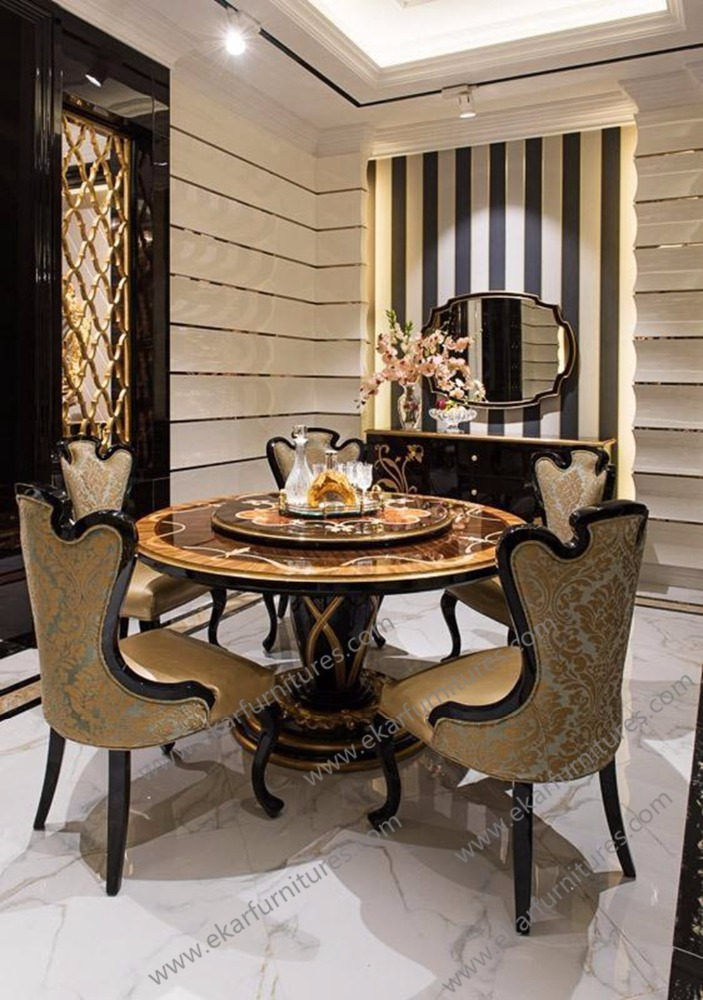 Upholstered restaurant used handmade dining chairs, buffet chairs