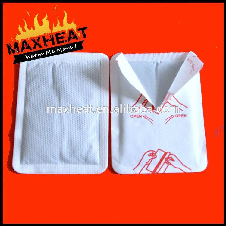 Wellenss Magic instant heat body warmer hot back pack Magic heat packs