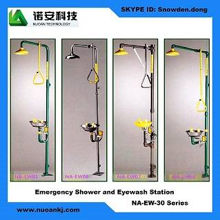 Emergency Shower and Eyewash Station
