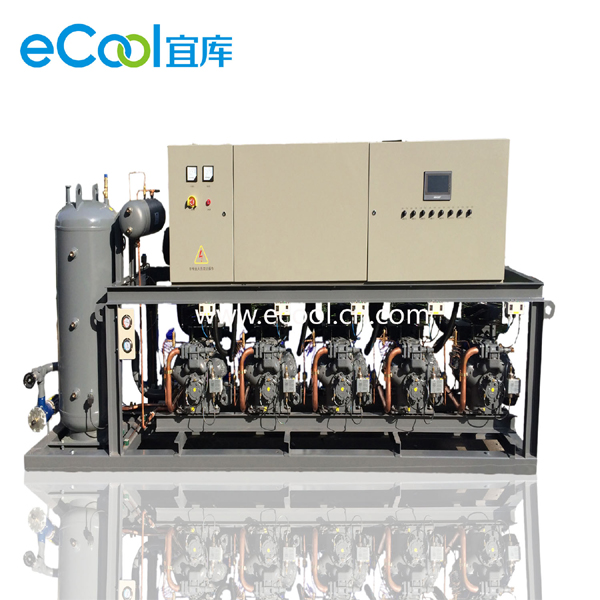 Low-Temperature Piston Type Multi-Compressor Unit