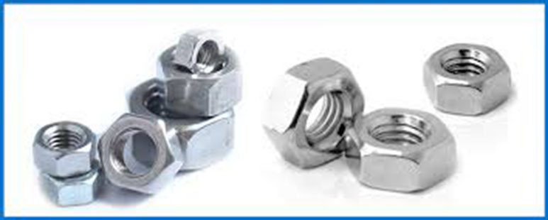 Inconel X-750 UNS N07750 Hex Nuts