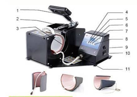 Multifunctional Digital Mug Press