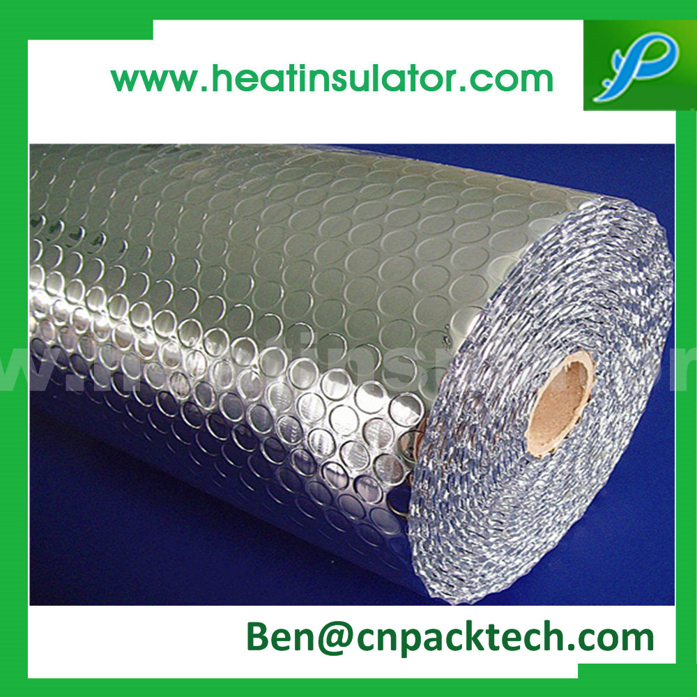 Single Sided Alu Bubble Foil Insulation Reflective Foil Insulation