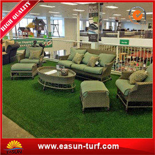 Gold supplier fake turf mat decoration and artificial lawn mat- ML