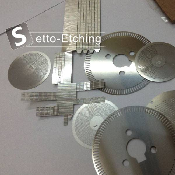Chemical etching high precision metal components