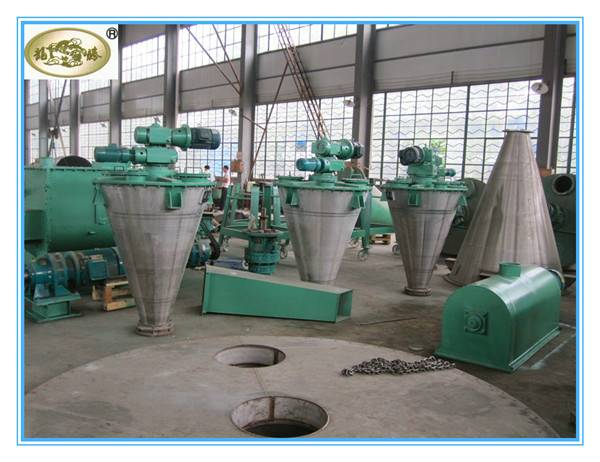 Powder Vertical Ribbon Blender , Ribbon Mixer