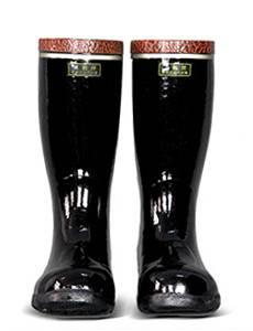 Men's Steel Toe Waterproof Rubber Work Boots EN20345