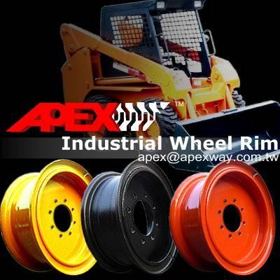 Skid Loader Wheel Rim