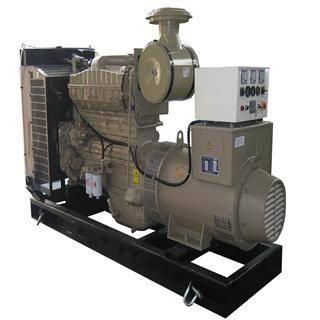 50HZ 400V Cummins 250kw diesel generator