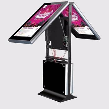 LCD floor stand digital display signage