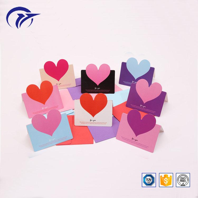 Customized printing birthday christmas greeting wedding invitation festival paper gift cards