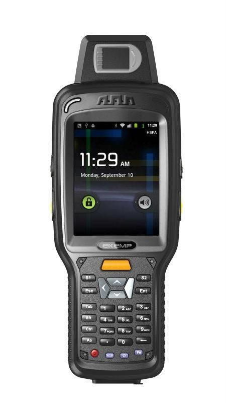Handheld GPS Terminal Support 1d/2d Barcode Scanner,Fingerprint(X6)