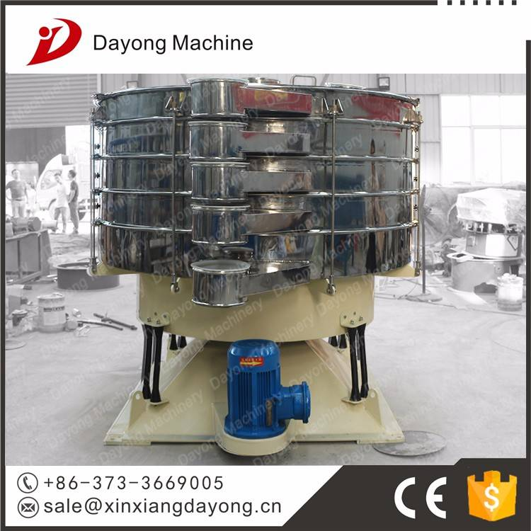 grain vibrating cleaning sieve