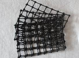 biaxial platic protect -support net used in coal mine