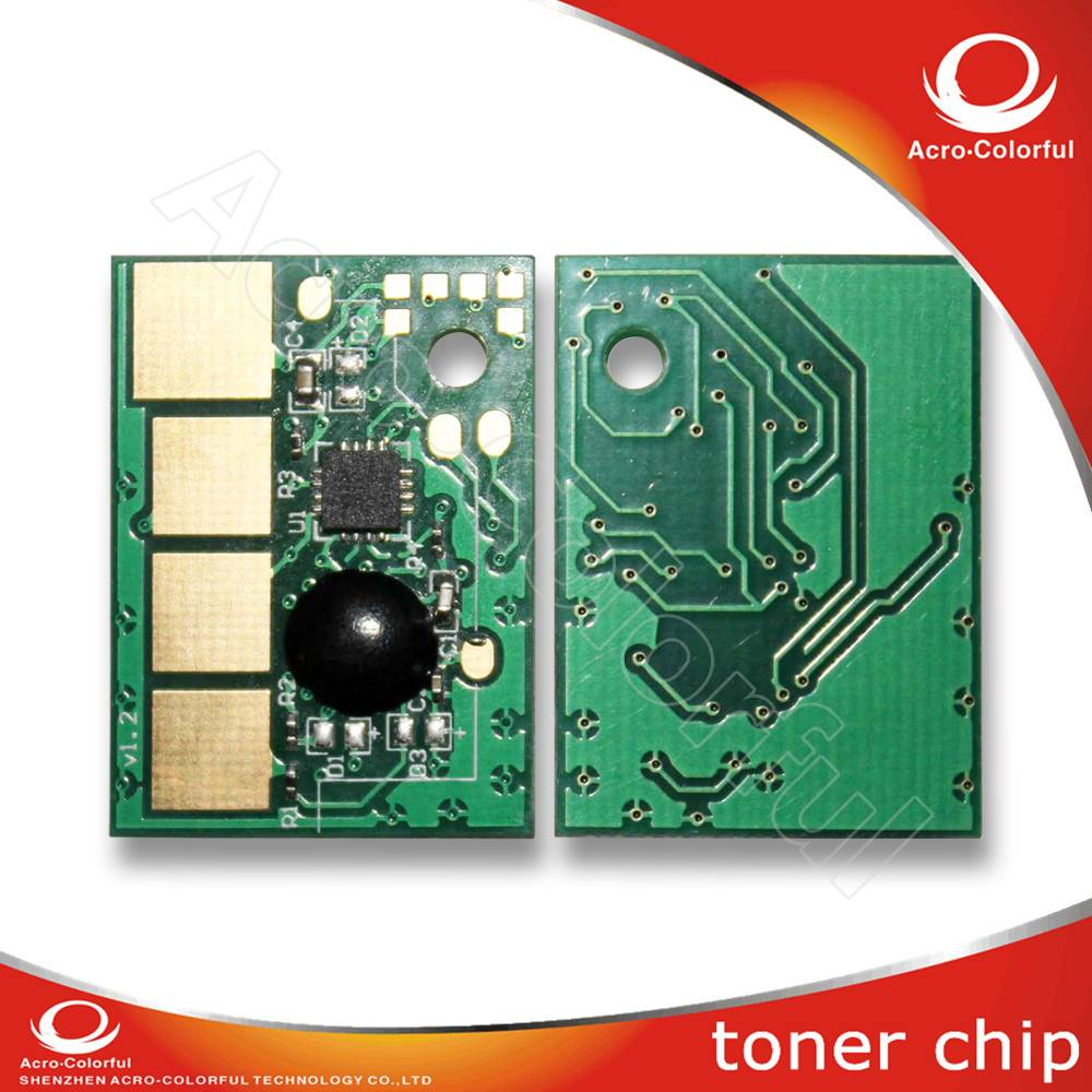Compatible black 9K laser printer toner cartridge reset chip for Lexmark E360 E460 E462