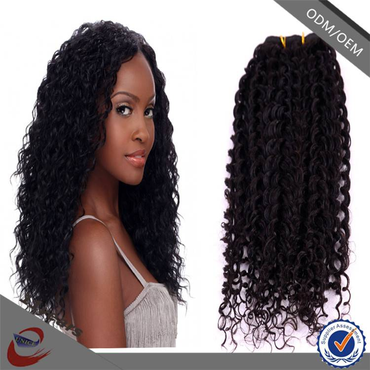 New Arrival 5A Grade Remy Malaysian Afro Kinky Curly Sew in Hair Weave