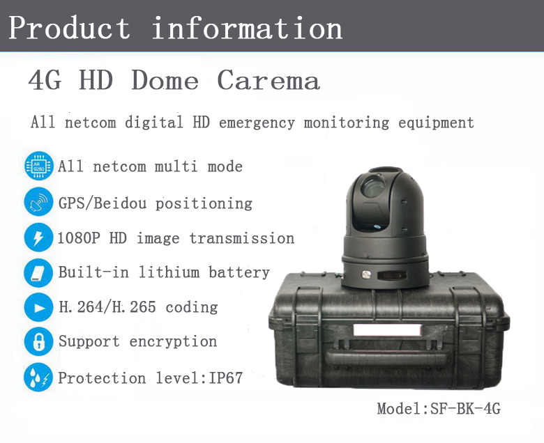 HD Dome Camera,360-degrees PTZ monitoring,emergency control system,HD image transmission