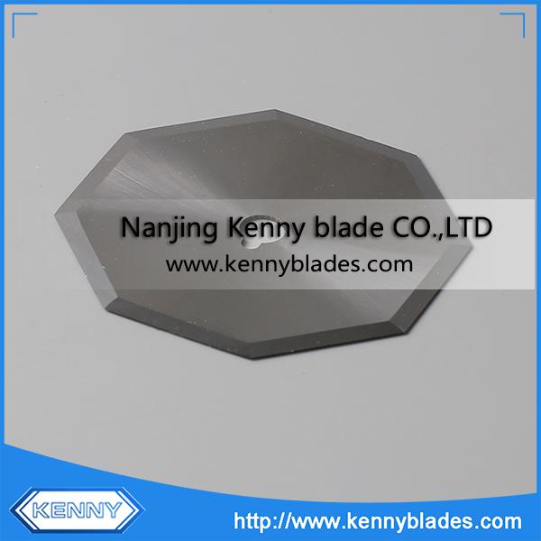 Octagonal Tungsten Carbide Cloth Cutting Blade