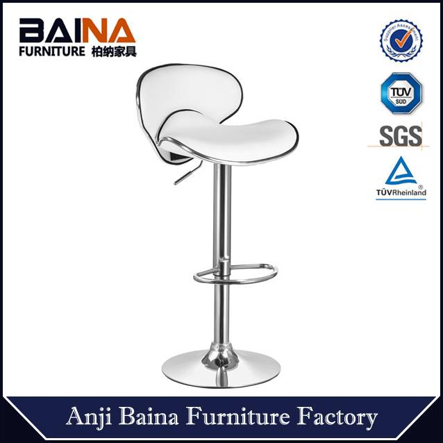Butterfly used commercial chromed bar stools BN-1008-1