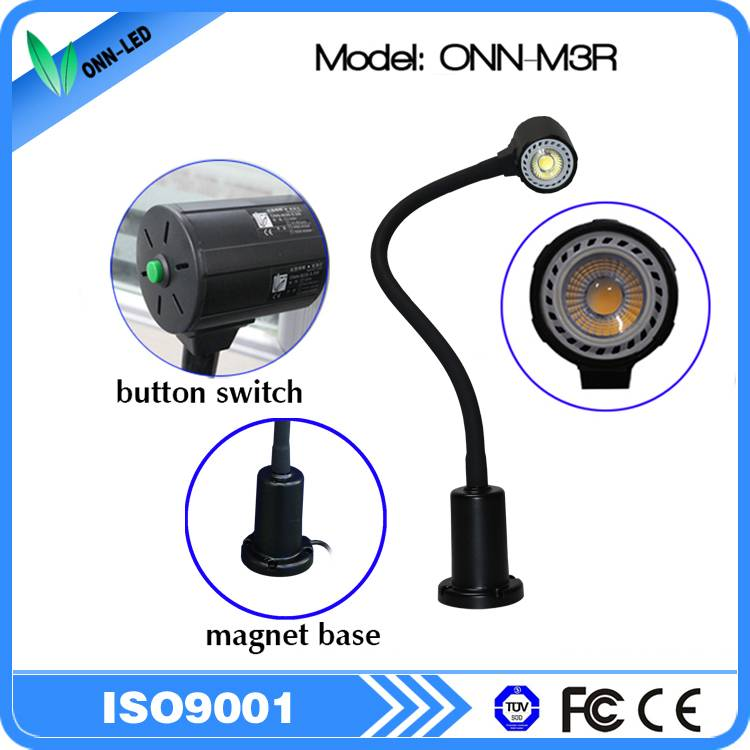 Factory price energy saving 24V 5w magnetic led machine work lamp