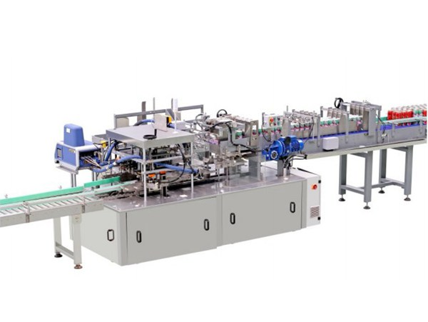 One-piece Carton Wrapping Machine LC-ZX35