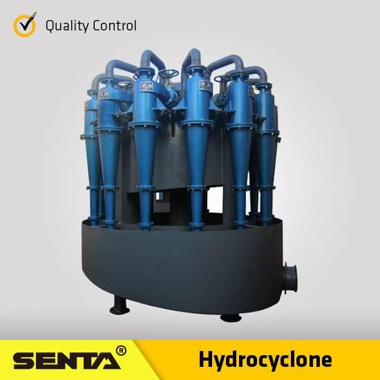 Mining Separator Desander starch sand sizing filter machine hydrocyclone manufacturers