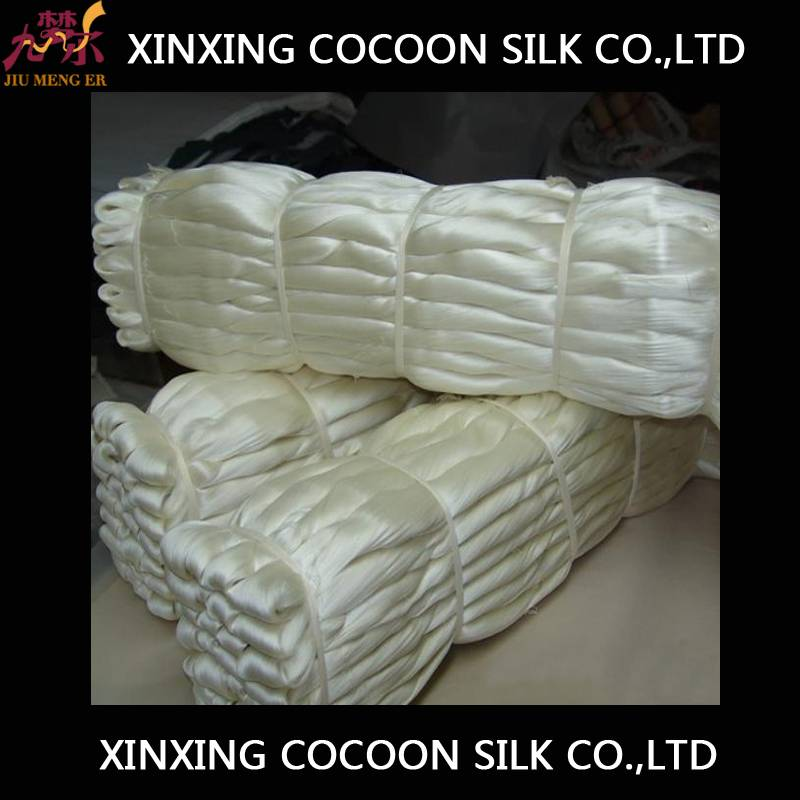 High Quality Raw Silk with factory price China Supplier