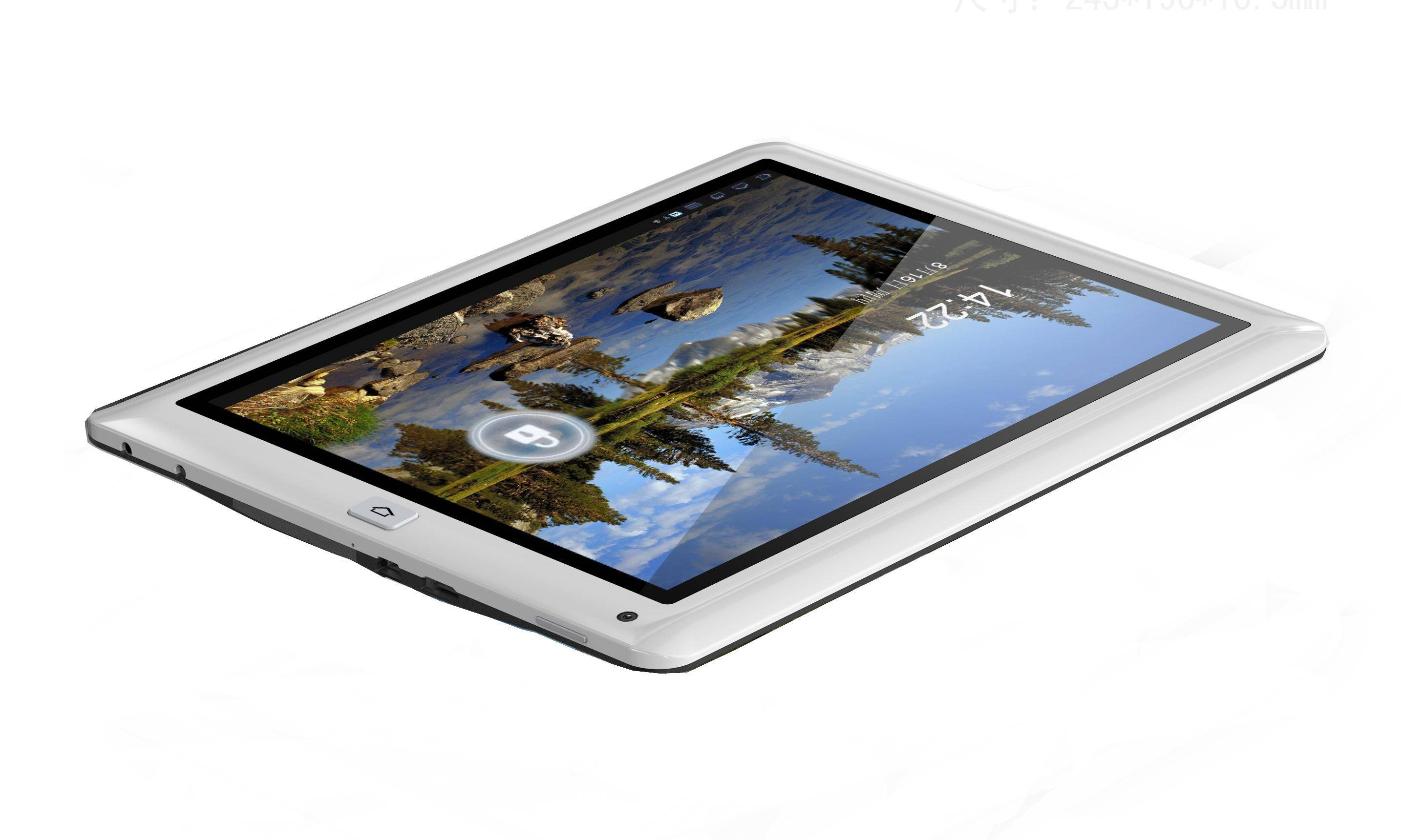 9.7 inch allwinner A10 1G RAM 8G ROM 1.2Ghz capacitive panel Wifi and 3G tablet pc