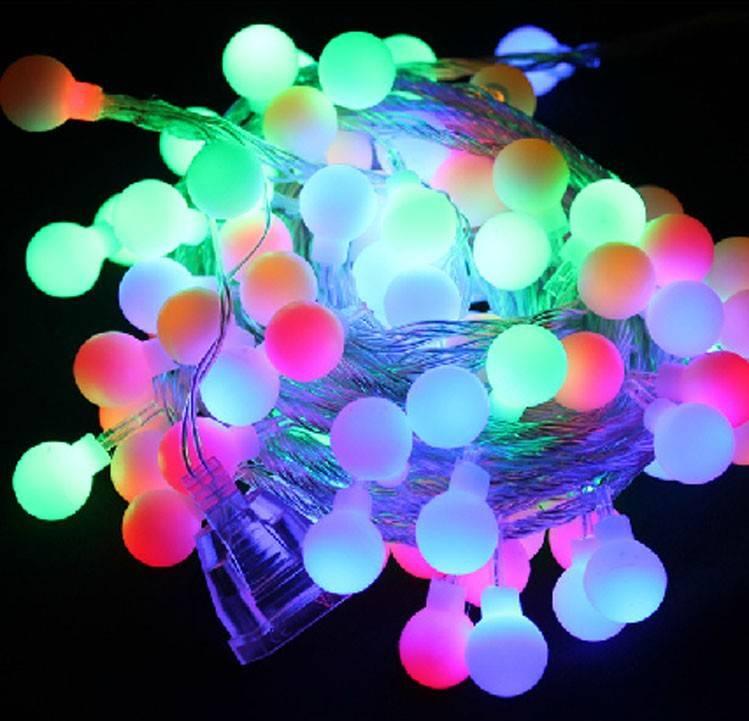 LED String Light; Waterproof LED String Fairy Light For Christmas Decoration, 10M 72leds