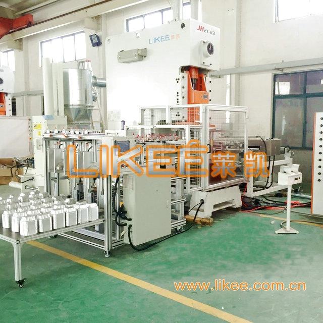 Aluminum Foil Food Container Forming Machine