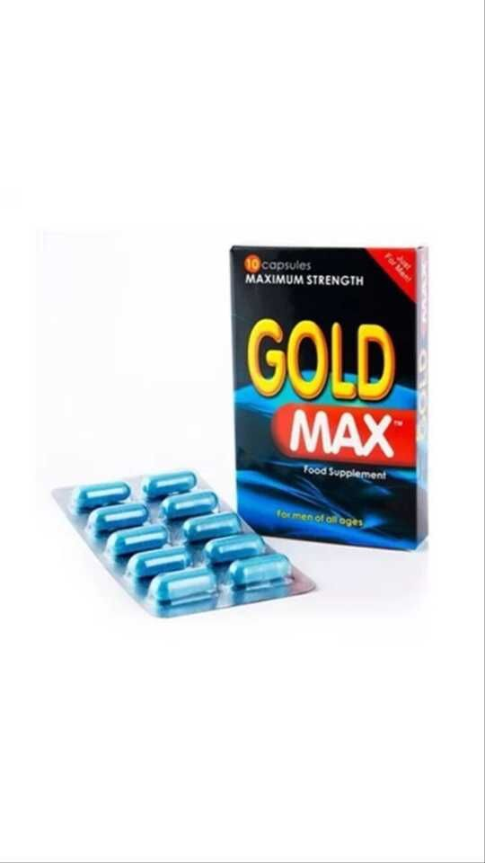 Gold Max sex capsules for men enlargement