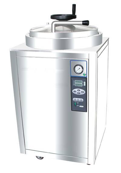 LDZX-30KBS Hand wheel Stainless Steel Vertical Pressure Steam Sterilizer