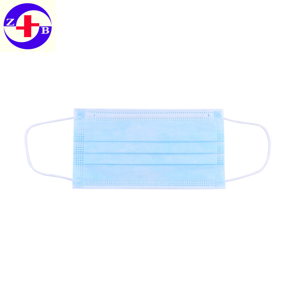 Factory Disposable 3Ply Nonwoven Face Mask For Medical