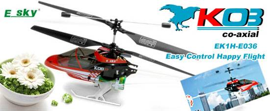 Esky E036 KOB Electronic RC Helicopter