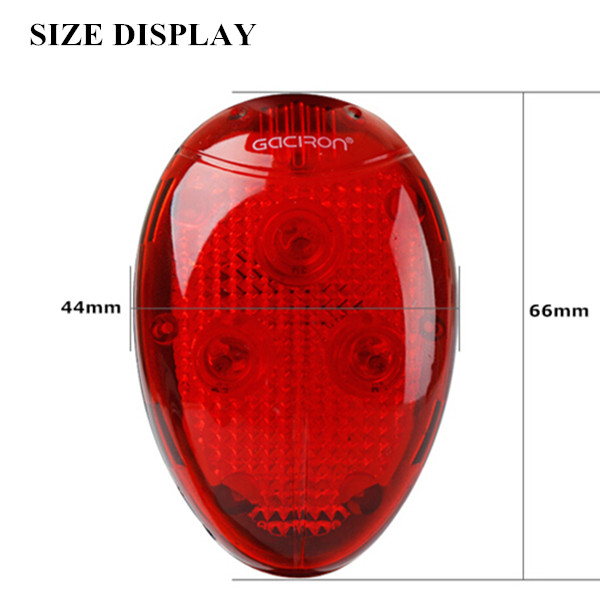 Smart tail light,light and motion activate,bicycle wheel light