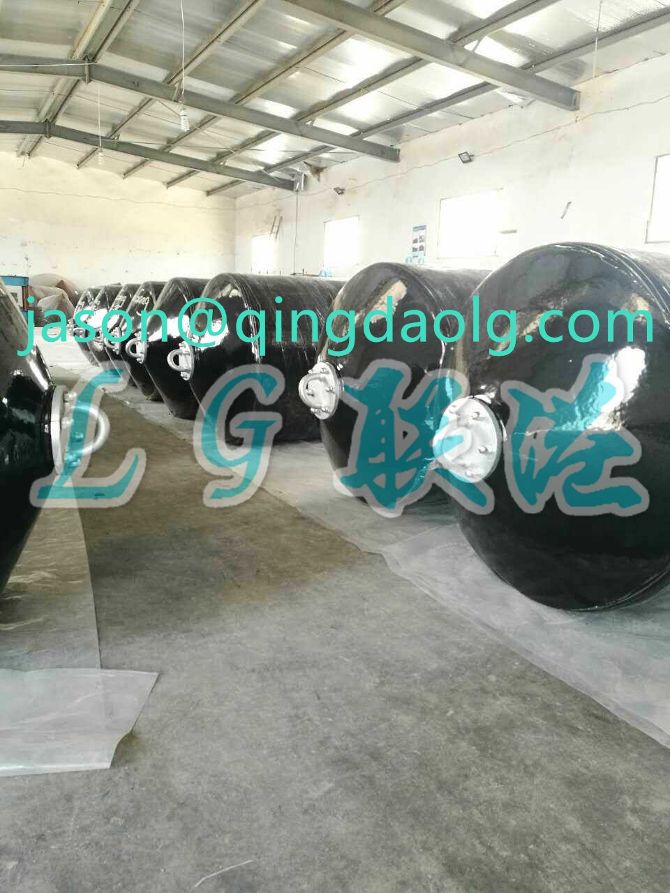 Professional manufacture for foam filled ship fender in China