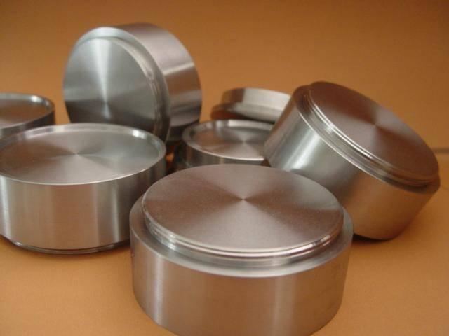 Nickel vanadium (NiV) alloy sputtering targets